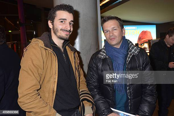 Directors Jonathan Taieb and Gael Morel attend the 'Cheries Cheris' - LGBT 20th Festival - : Closing Ceremony At MK2 Bibliotheque on December 2, 2014...