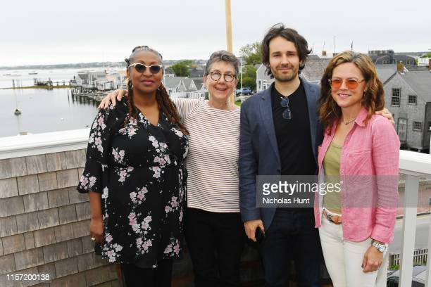 Directors Lisa Cortes Julia Reichert AJ Eaton and Irene Taylor Brodsky attend Morning Coffee during the 2019 Nantucket Film Festival Day Two on June...