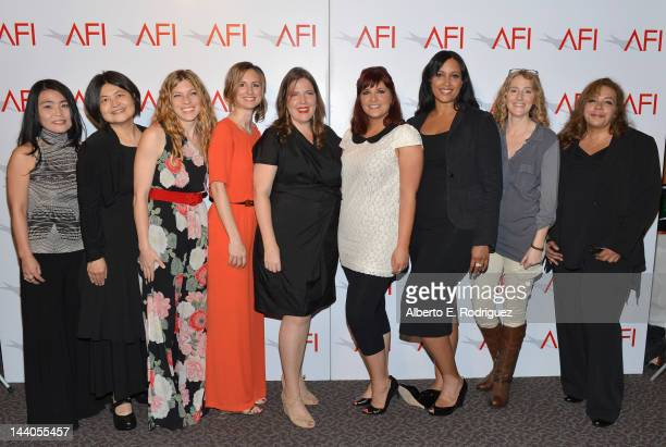 Directors Mako Kamitsuna Wenwha Ts'ao Bridget Palardy Kit Pongetti Jane Pickett Trisha Gum Anika Poiter Denise Plumb and Neema Barnett attend the...