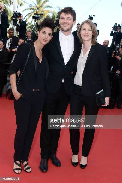 """Directors Marie Amachoukeli-Barsacq, Samuel Theis and Claire Burger attend the Closing Ceremony and """"A Fistful of Dollars"""" Screening during the 67th..."""