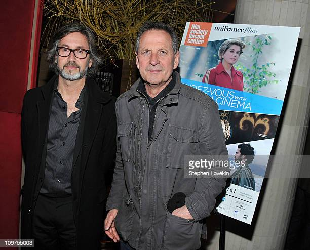 Directors Martin Provost and Rene Feret attend the 16th Annual RendezVous with French Cinema Opening Night Gala presented by Film Society of Lincoln...
