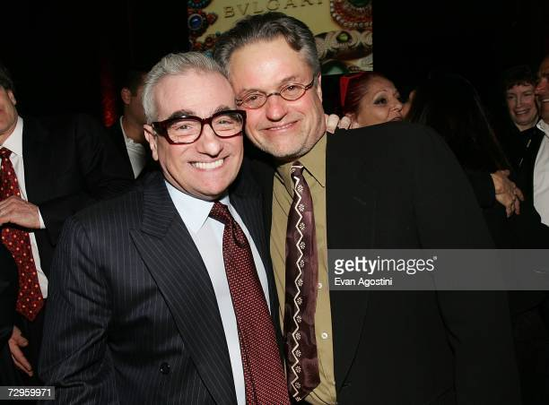 Directors Martin Scorsese and Jonathan Demme pose together at the 2006 National Board Of Review Awards Presented by BVLGARI at Cipriani 42nd Street...