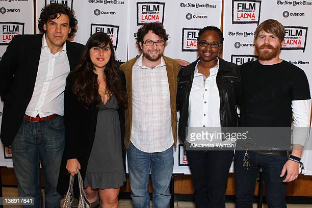 Directors Matthew Gordon Maryam Keshavarz Adam Reid Dee Rees and Evan Glodell at Film Independent Screening Series 'Cassavetes' Shadow' held at The...