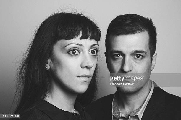 Directors Melissa Dullius and Gustavo Jahn are photographed for Self Assignment on February 17, 2016 in Berlin, Germany.