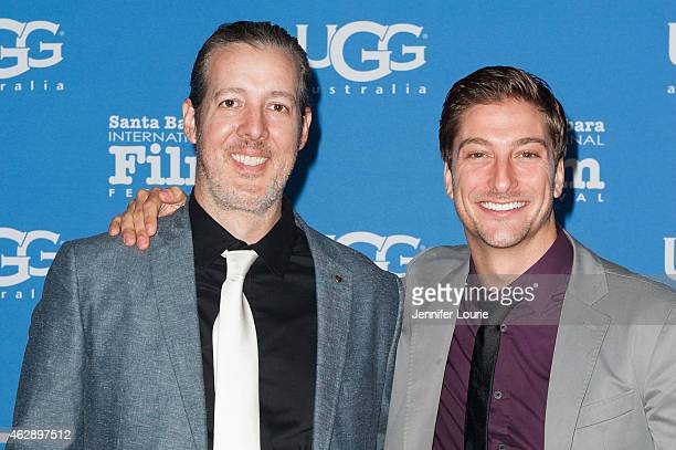 Directors Michael Goode and Daniel Lissing attend the Outstanding Performer of The Year ceremony at the 30th Santa Barbara International Film...