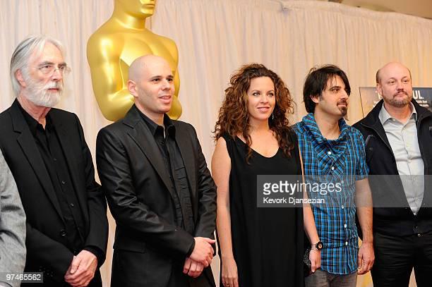 Directors Michael Haneke 'The White Ribbon' Yaron Shani 'Ajami' Claudia Llosa 'The Milk Of Sorrow' Scandar Copti 'Ajami' Juan Jose Campanella 'The...