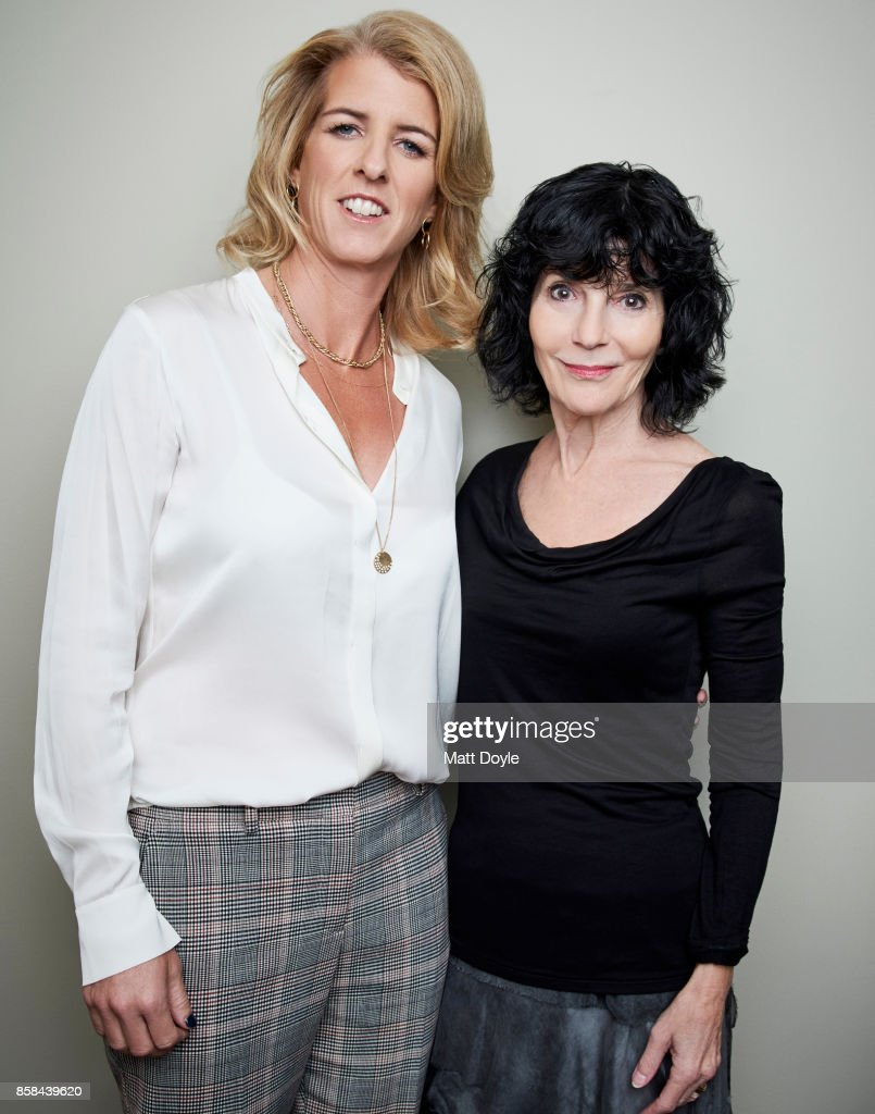 Directors Nancy Buirski and Rory Kennedy pose for a portrait at the 55th New York Film Festival on September 28, 2017.