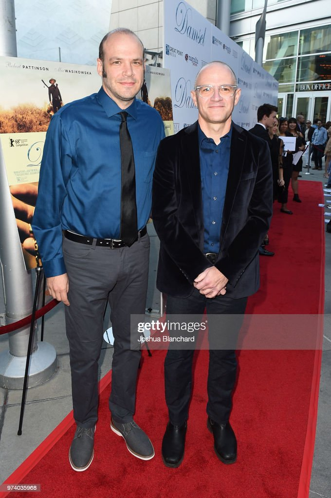 Directors Nathan Zellner (L) and David Zellner attend Los Angeles Premiere of Magnolia's DAMSEL, sponsored by Casa Noble on June 13, 2018 in Los Angeles, California.