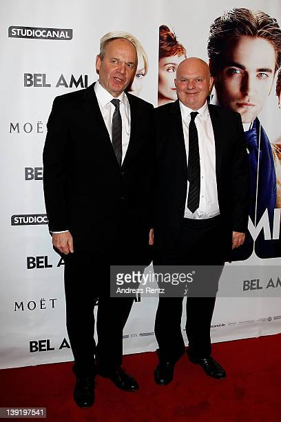 Directors Nick Ormerod and Declan Donnellan attend the Bel Ami Party during day nine of the 62nd Berlinale International Film Festival at Meistersaal...