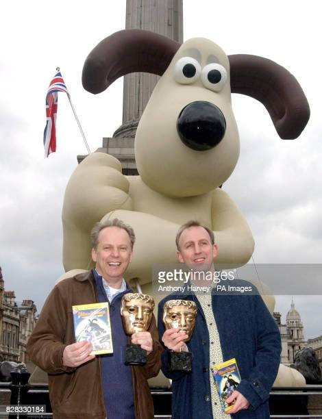 Directors Nick Park and Steve Box launch the New DVD 'Wallace GromitThe Curse of the WereRabbit' and celebrate their Orange British Academy Film...