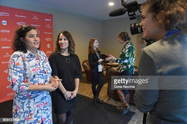 Directors of Photography Yamit Shimonovitz and Soraya Selene attend the 'Half The Picture' Premiere during the 2018 Sundance Film Festival at...