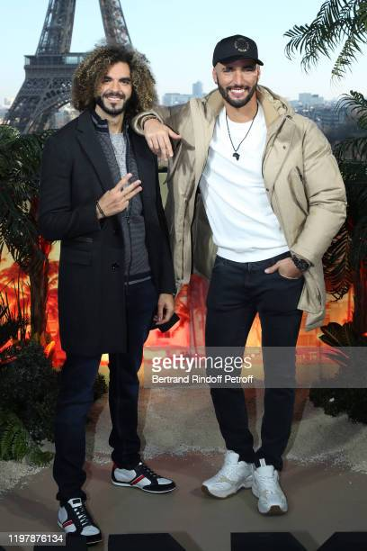 """Directors of the movie, Adil El Arbi and Bilall Fallah attend the """"Bad Boys for Life"""" Photocall at Terrasse du Cafe de l'Homme on January 06, 2020 in..."""