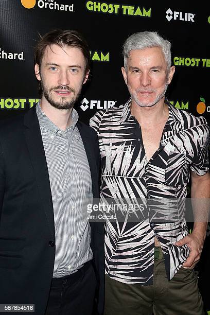Directors Oliver Irving and Baz Luhrmann attending Premiere Screening of Ghost Team at Metrograph on August 9 2016 in New York City