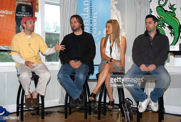 Directors' Panel from left to right Jace Alexander of Carry Me Home Gregor Jordan of Buffalo Soldiers Catherine Hardwicke of Thirteen and Alex...
