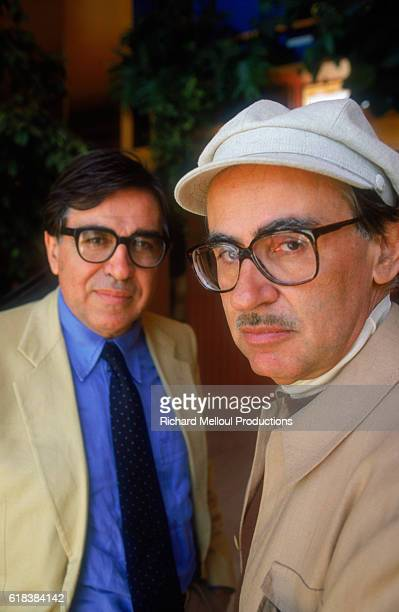 Directors Paolo and Vittorio Taviani are attending the 1987 Cannes Film Festival The two brothers are releasing their new movie Good Morning Babylon