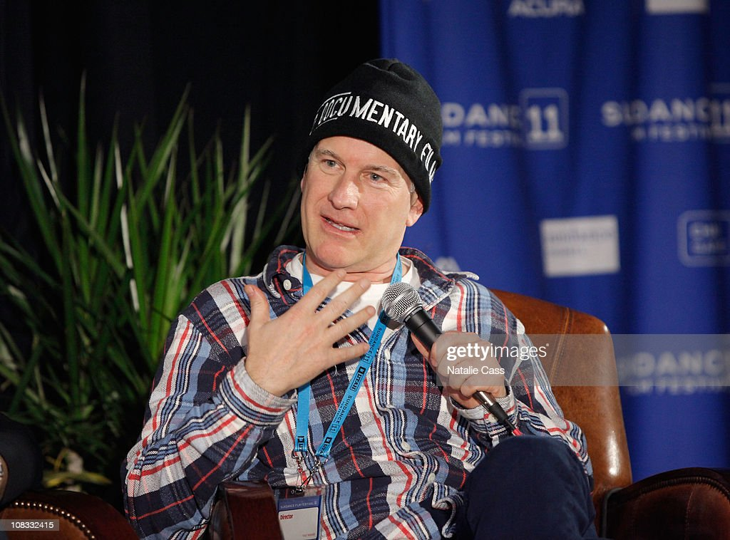 Directors Randy Barbato speaks at the GLAAD Panel at the Filmmaker Lodge during the 2011 Sundance Film Festival on January 25, 2011 in Park City, Utah.