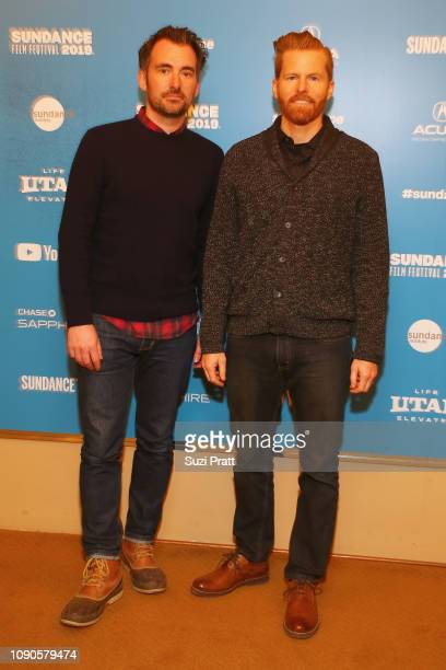 Directors Rhys Thomas and Alex Buono attend the 'Documentary Now' Red Carpet Screening And After Party during the 2019 Sundance Film Festival at The...