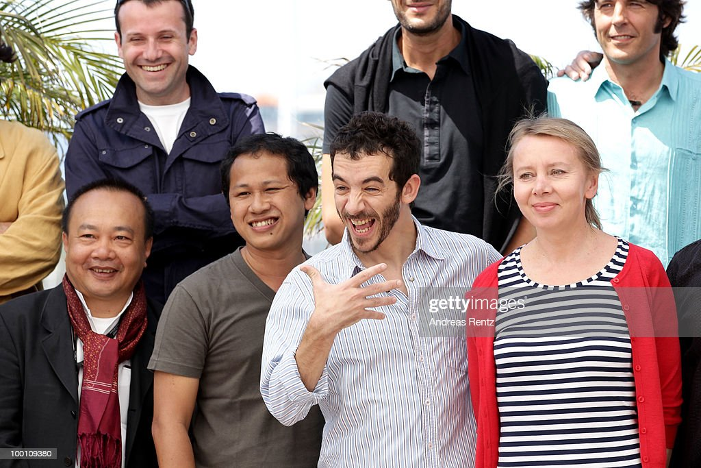 Directors Rihty Panh,Edwin, Pablo Fendrik and Urszula Antoniak attend the 'Uncle Boonmee Who Can Recall His Past Lives' Photocall at the Palais des Festivals during the 63rd Annual Cannes Film Festival on May 21, 2010 in Cannes, France.