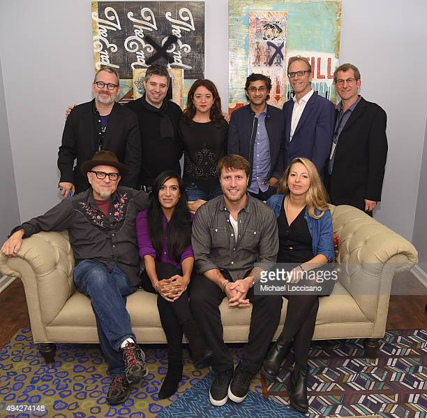 Directors Robert Gordon Evgeny Afineevksy Liz Garbus Asif Kapadia Kirby Dick Morgan Neville and Bobcat Goldthwait Geeta Patel Matthew Heineman and...