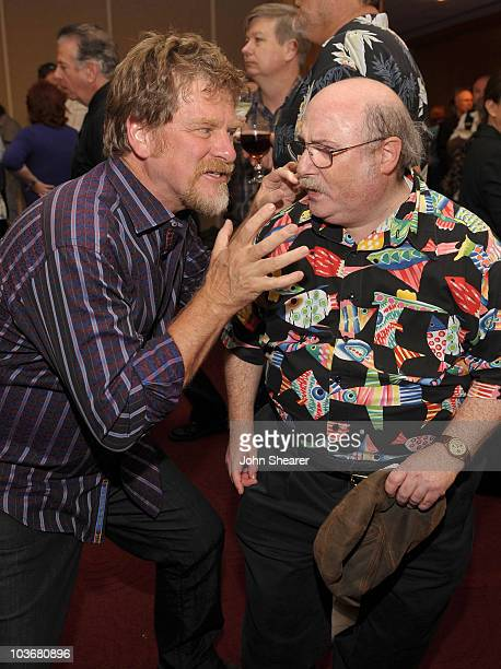 Directors Roger Allers and Eric Goldberg attend AMPAS' 14th Annual Marc Davis Celebration of Animation at the AMPAS Samuel Goldwyn Theater on July 28...