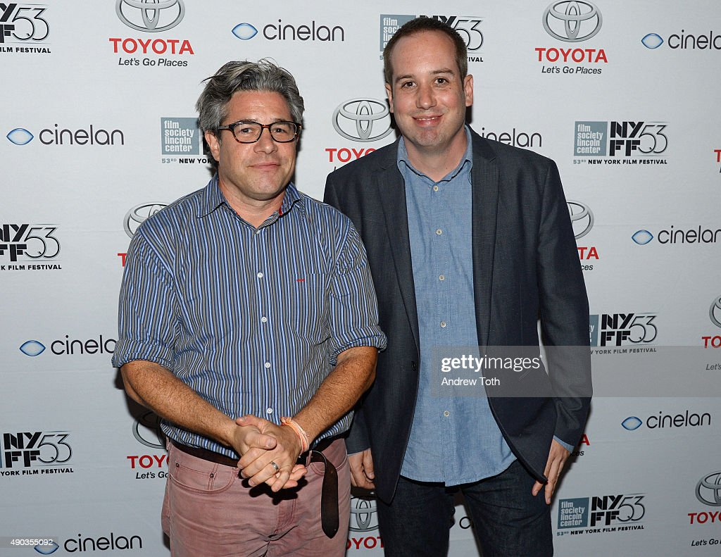Directors Ross Kauffman (L), and Kief Davidson attend the Convergence/Toyota Party during the 53rd New York Film Festival on September 27, 2015 in New York City.