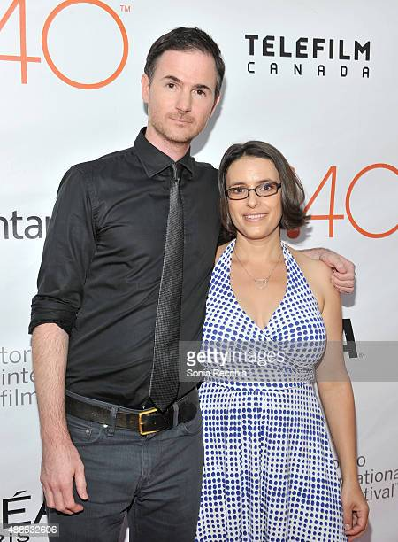 Directors Ryan Fleck and Anna Boden attend the 'Mississippi Grind' premiere during the 2015 Toronto International Film Festival at Roy Thomson Hall...