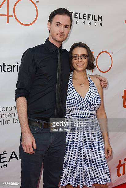 Directors Ryan Fleck and Anna Boden attend the premiere of 'Mississippi Grind' at Roy Thomson Hall on September 16 2015 in Toronto Canada