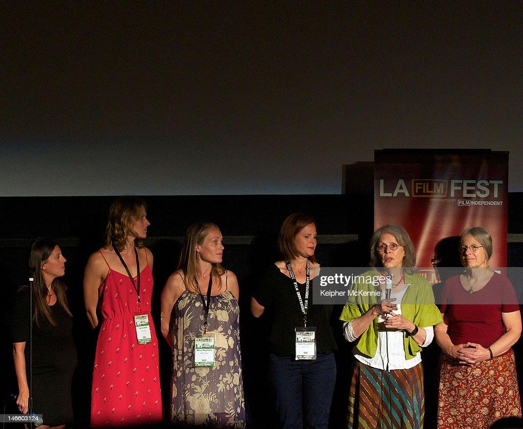 Directors Sara Lamm , Mary Wigmore , and midwife Ina May