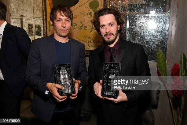 Directors Sean Baker and Edgar Wright attend the Kodak Motion Picture Awards Season Celebration on March 1 2018 in Los Angeles California
