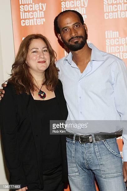 """Directors Shari Rothfarb Mekonen and Avishai Yeganyahu Mekonen attend the screening of """"400 Miles To Freedom"""" during the 2012 New York Jewish Film..."""