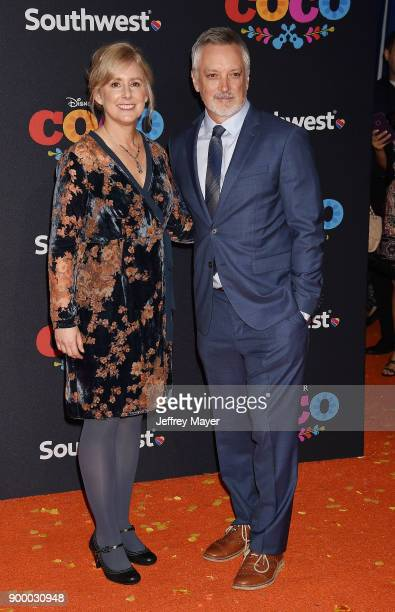 Directors Stevie WermersSkelton Kevin Deters arrives at the premiere of Disney Pixar's 'Coco' at El Capitan Theatre on November 8 2017 in Los Angeles...
