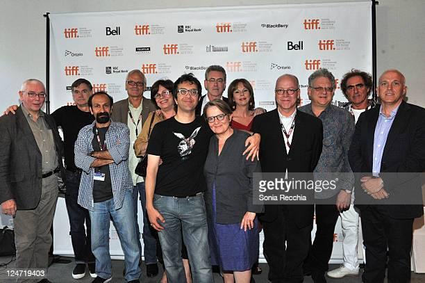 Directors Terence Davies Gus Van Sant Asghar Farhadi Wayne Clarkson Interim CEO of The Academy of Canadian Cinema Television Helga Stephenson...