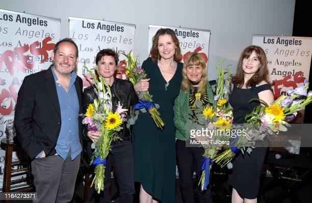 Directors Tom Donahue and Kimberly Peirce, executive producer Geena Davis, director Catherine Hardwicke and screenwriter Devra Maza attend a...