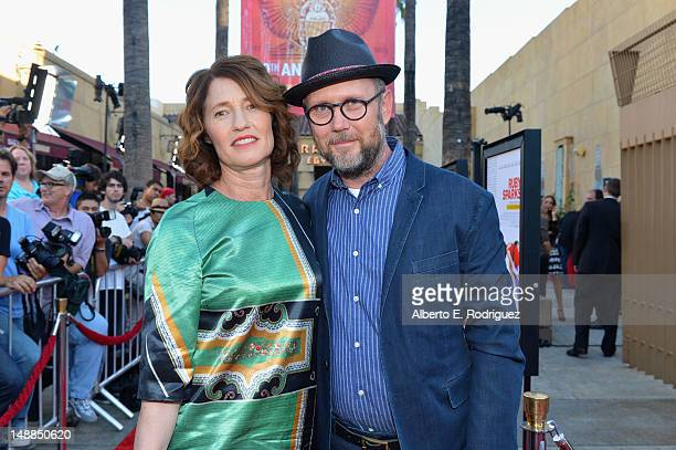 Directors Valerie Faris and Jonathan Dayton arrive to the premiere of Fox Searchlight's 'Ruby Sparks' at the Egyptian Theatre on July 19 2012 in...