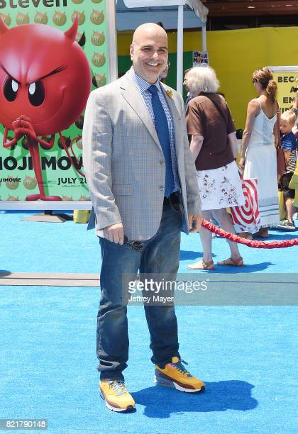 Director/Screenplay/story Tony Leondis arrives at the Premiere Of Columbia Pictures And Sony Pictures Animation's 'The Emoji Movie' at Regency...