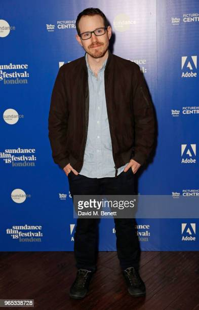 Director/Screenwright Ari Aster attends the 'Hereditary' screening during the Sundance Film Festival London at the Picturehouse Central on June 1...