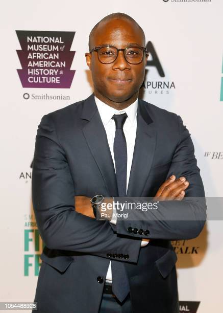 Director/screenwriter Barry Jenkins attends the If Beale Street Could Talk premiere at National Air and Space Museum on October 27 2018 in Washington...
