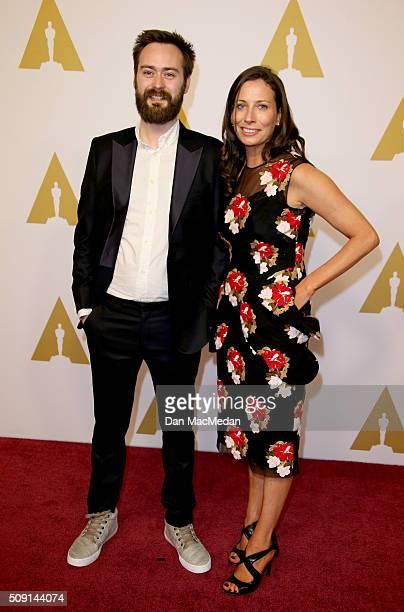 Director/screenwriter Benjamin Cleary and producer Serena Armitage attend the 88th Annual Academy Awards Nominee Luncheon in Beverly Hills,...