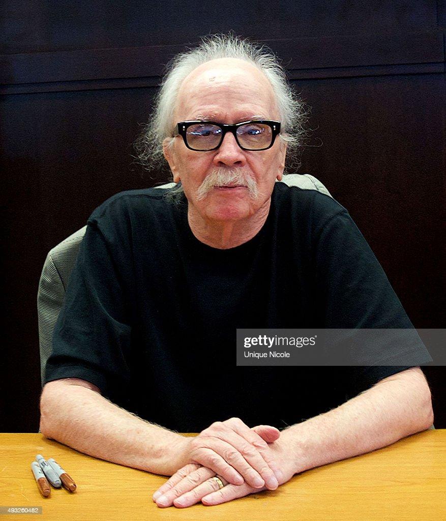"John Carpenter Book Signing For ""John Carpenter's Tale For A Halloween Night"""