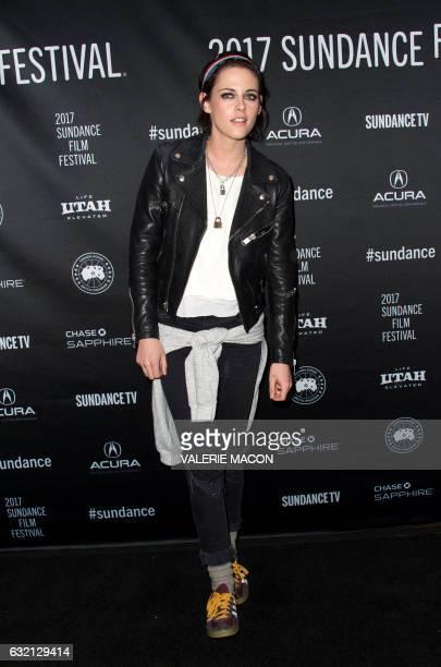 Director/Screenwriter Kristen Stewart attends the Premiere of her movie 'Come Swim' at 2017 Sundance Film Festival in Park City Utah January 19 2017...