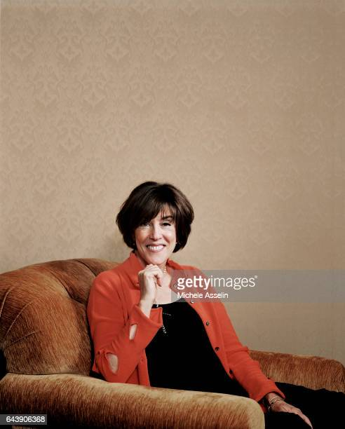 Director/screenwriter Nora Ephron is photographed at a portrait session on August 15, 2005 in New York City.