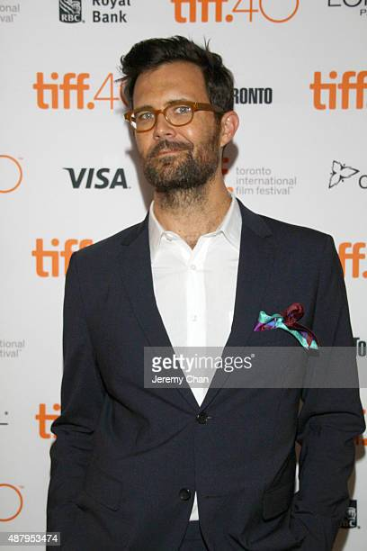 Director/screenwriter Oz Perkins attends the 'February' photo call during the 2015 Toronto International Film Festival at Scotiabank on September 12...