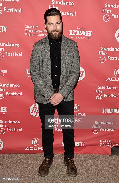 Director/screenwriter Robert Eggers attends The Witch premiere during the 2015 Sundance Film Festival on January 27 2015 in Park City Utah