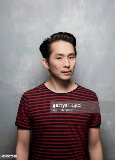 Director/Star Justin Chon from the film Gook is photographed at the 2017 Sundance Film Festival for Los Angeles Times on January 20 2017 in Park City...