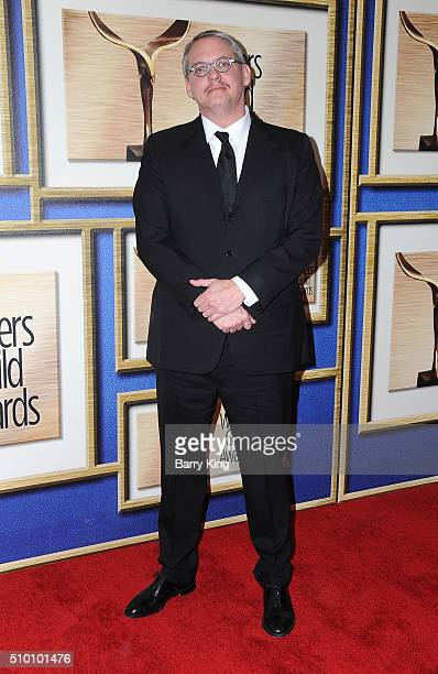 Director/writer Adam McKay attends the 2016 Writers Guild Awards LA Ceremony at the Hyatt Regency Century Plaza on February 13 2016 in Los Angeles...