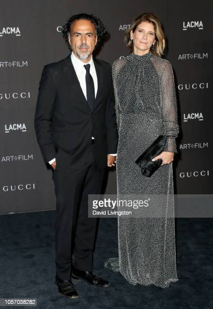 Directorwriter Alejandro Gonzalez Inarritu and Maria Eladia Gonzalez attend 2018 LACMA Art Film Gala honoring Catherine Opie and Guillermo del Toro...