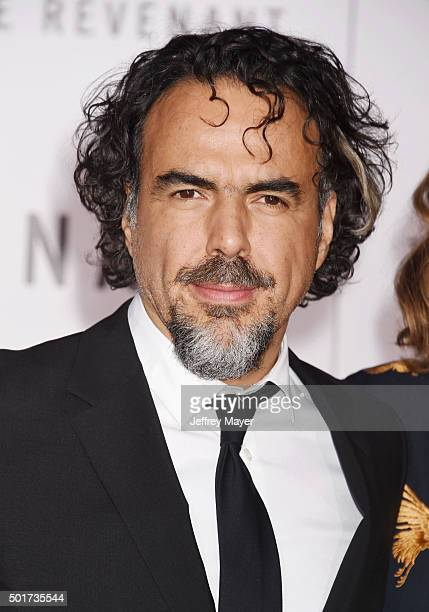 Director/writer Alejandro Gonzalez Inarritu arrives at the Premiere of 20th Century Fox And Regency Enterprises' 'The Revenant' at TCL Chinese...