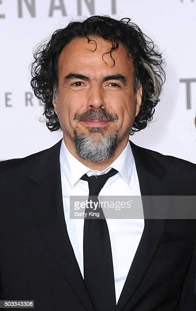 Director/writer Alejandro Gonzalez Inarritu attends the Premiere of 20th Century Fox And Regency Enterprises' 'The Revenant' at TCL Chinese Theatre...