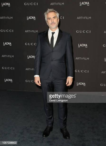Directorwriter Alfonso Cuaron attends 2018 LACMA Art Film Gala honoring Catherine Opie and Guillermo del Toro presented by Gucci at LACMA on November...