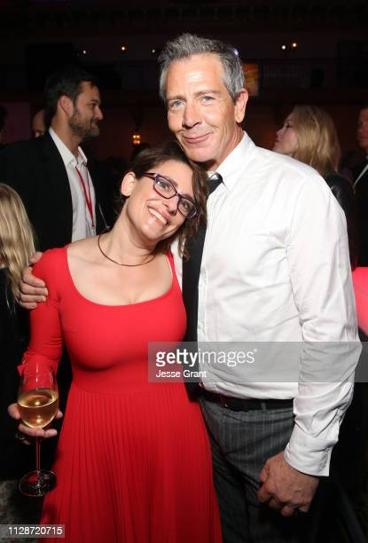 Director/writer Anna Boden and actor Ben Mendelsohn attend the Los Angeles World Premiere of Marvel Studios' Captain Marvel at Dolby Theatre on March...